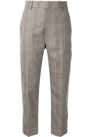 SOFIE D'HOORE Women Pants - Cropped checked trousers