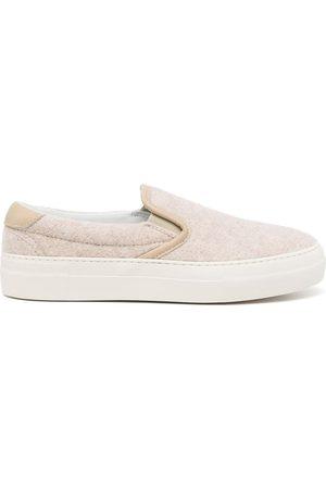 SOFIE D'HOORE Women Flat Shoes - Slip-on sneakers - Neutrals