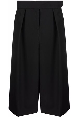 ALEXANDRE VAUTHIER Women Culottes - Pressed-pleat culottes