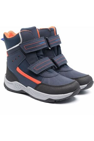 Geox Boys Boots - Sentiero touch-strap mid-calf boots