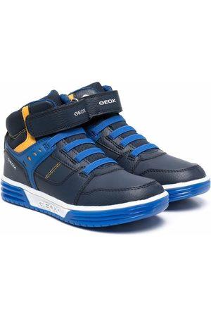 Geox J Argonat panelled sneakers