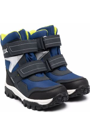Geox Boys Ankle Boots - Himalaya touch-strap ankle boots