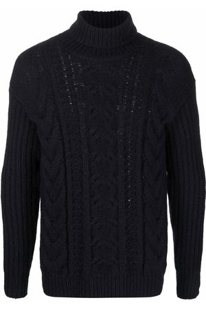 Roberto Collina Cable-knit roll-neck jumper