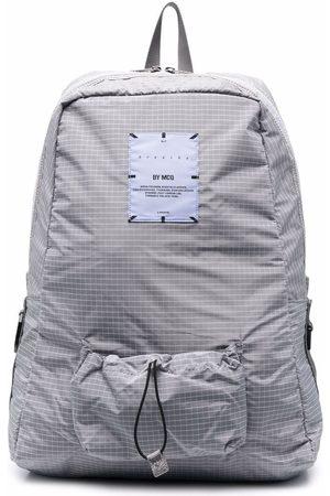 McQ Breathe multi-pocket backpack - Grey