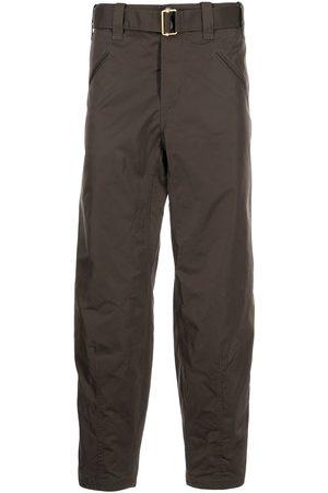 Armani Men Cargo Pants - Belted-waist cargo trousers