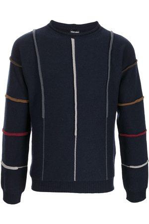 Armani Stripe-pattern knitted jumper