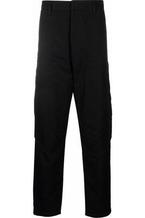 Stone Island Men Straight Leg Pants - Multiple-pocket straight-leg trousers