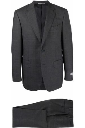 CANALI Men Suits - Wool single-breasted suit - Grey