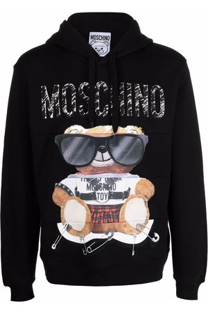 Moschino Teddy-print hoodie