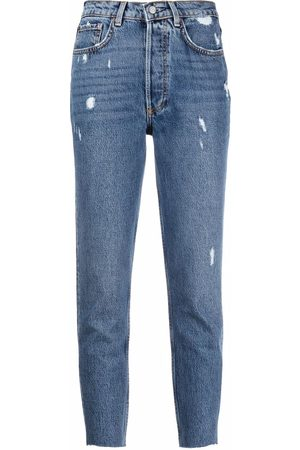 Boyish Jeans Women Slim - The Billy distressed slim-fit jeans