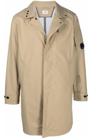 C.P. Company Men Parkas - Concealed-front parka coat - Neutrals