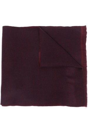 CANALI Men Scarves - Checked wool scarf