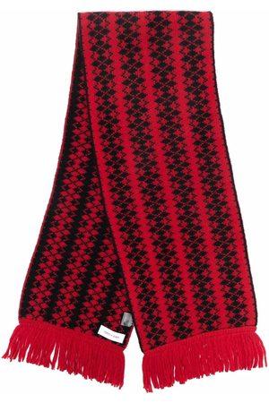 Ernest W. Baker Wool diamond print scarf