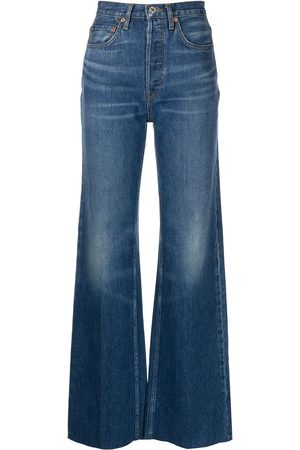 RE/DONE Women High Waisted - 70s Ultra high-rise wide-leg jeans