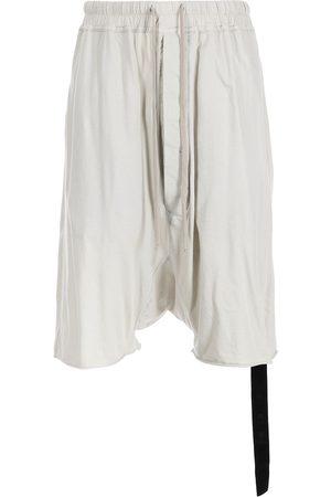 Rick Owens Men Shorts - Knee-length shorts - Grey