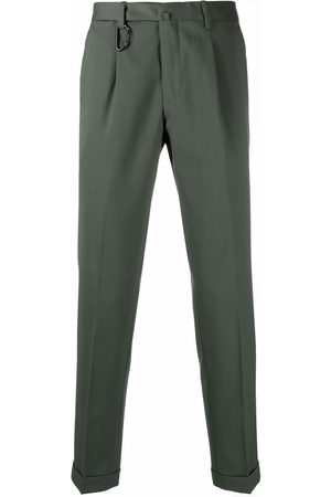 BRIGLIA Men Formal Pants - Cropped tailored trousers