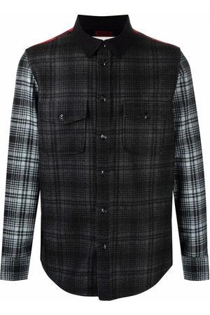 Woolrich Men Casual - Alaskan patchwork overshirt