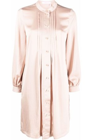See by Chloé Women Casual Dresses - Pleat-detail shirtdress