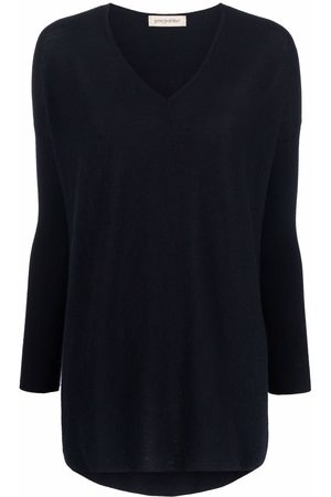 GENTRYPORTOFINO Women Sweaters - Fine-knit cashmere jumper