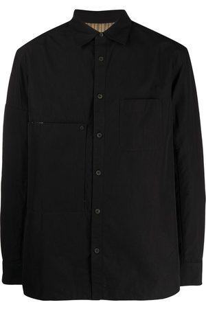 ZIGGY CHEN Men Long sleeves - Longsleeved cotton shirt