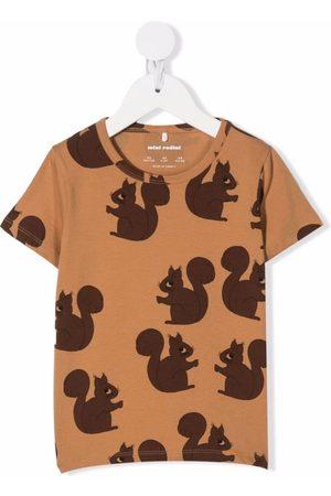 Mini Rodini Squirrel short-sleeve t-shirt