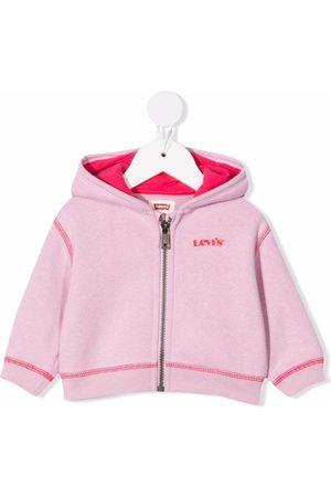 Levi's Hoodies - Two-tone zipped hoodie