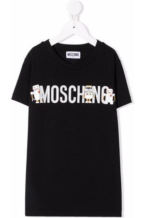 Moschino Boys T-shirts - Logo robot t-shirt