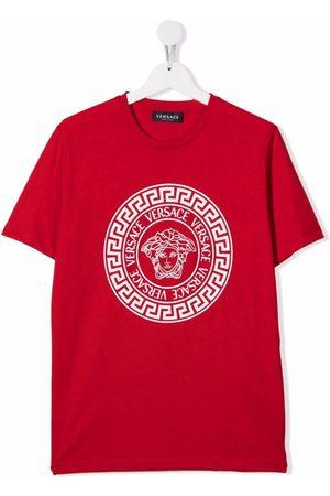 VERSACE Boys T-shirts - Logo crew-neck T-shirt