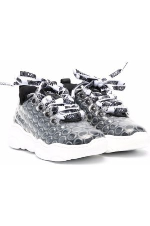 Moschino Bubble-wrap low-top sneakers