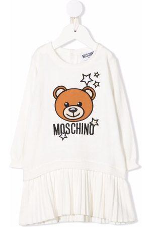 Moschino Baby Printed Dresses - Toy-bear print dress