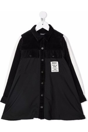 DKNY Logo-patch detaill dress