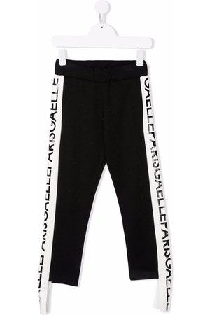 GAËLLE Girls Sweatpants - Logo print insert sweatpants