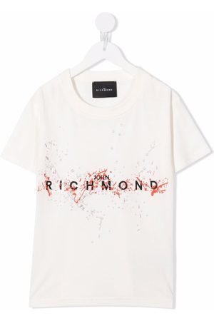John Richmond Junior Boys T-shirts - Logo-print T-shirt
