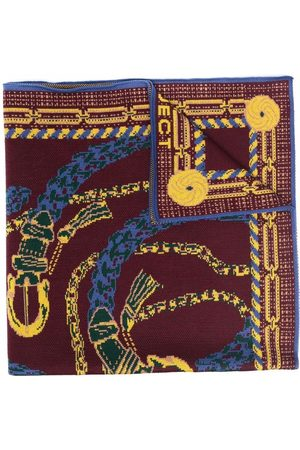 Y / PROJECT Women Scarves - Chain-link print scarf