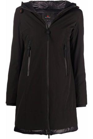 Peutery Women Trench Coats - Bakary hooded raincoat
