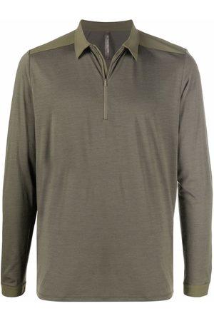 Veilance Men Polo Shirts - Zipped polo shirt