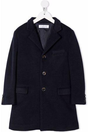 COLORICHIARI Boys Coats - Fitted single-breasted coat