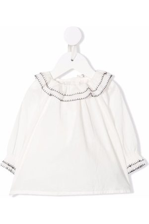 BONPOINT Baby Blouses - Whipstitch-trim blouse