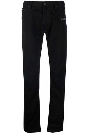 OFF-WHITE Logo-print jeans
