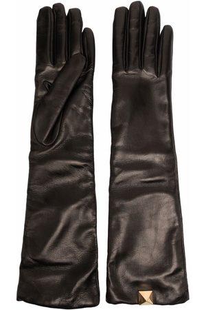 VALENTINO GARAVANI Roman Stud elbow-length gloves