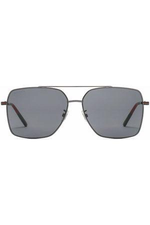 Gucci Square-frame aviator sunglasses