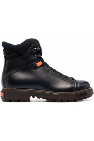 santoni Men Ankle Boots - Lace-up ankle boots