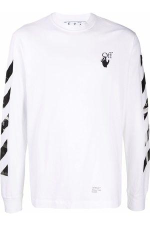 OFF-WHITE Men Long Sleeve - Caravaggio Arrows long-sleeve T-shirt