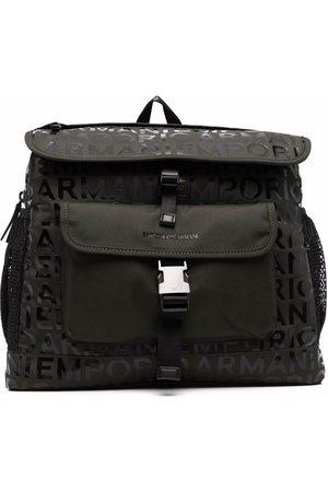 Emporio Armani Logo lettering backpack