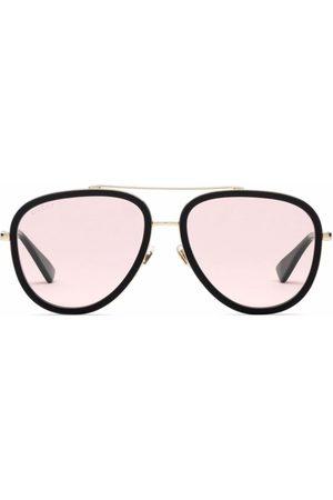 Gucci Women Aviators - Tinted-lense aviator sunglasses