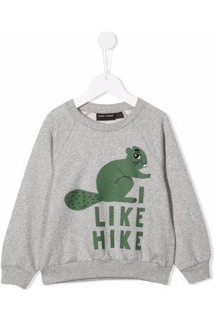 Mini Rodini Squirrel print sweatshirt - Grey