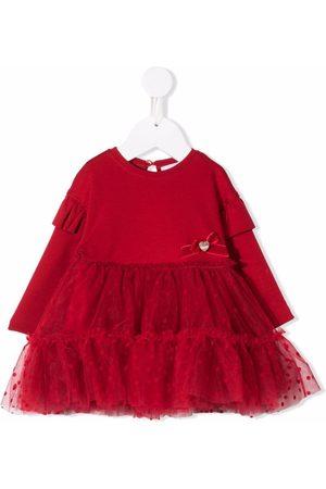 MONNALISA Baby Casual Dresses - Ruffled tulle dress