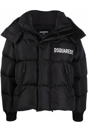 Dsquared2 Logo lettering padded coat