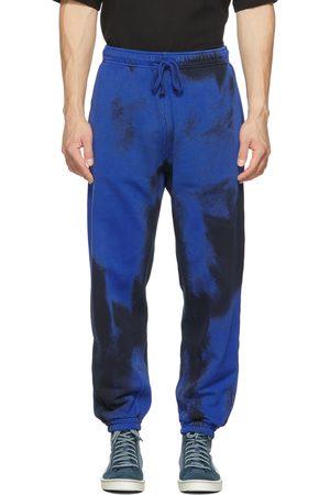 Diesel Men Sweats - Black & Blue P-Calton-Rib-B1 Lounge Pants