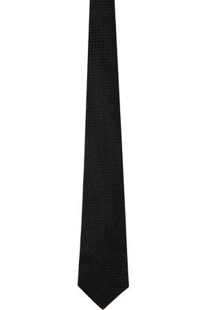 Comme des Garçons Black & Gold Silk Tie